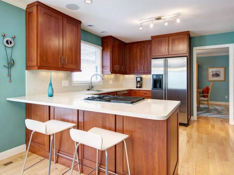 25 wonderful cherry wood cabinets kitchen decorating